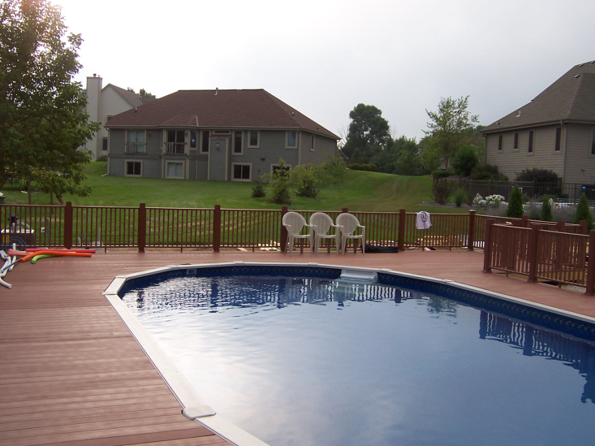 Germantown, WI Pool Deck